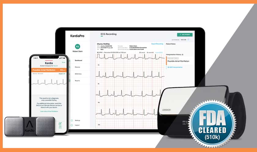 An exciting personal ECG device gets FDA Clearance