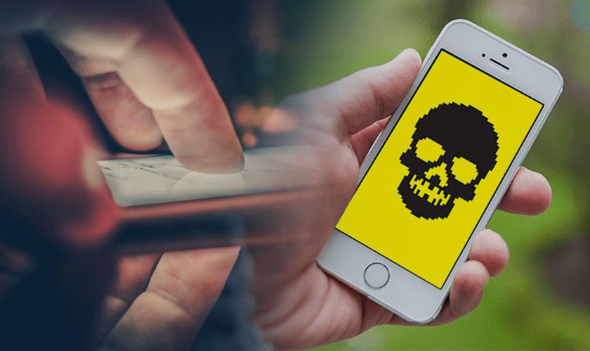 phishing sites distributing ios spyware