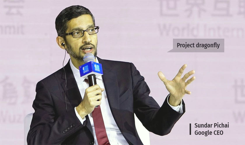 Pichai speaks about Google's super-controversial project in China