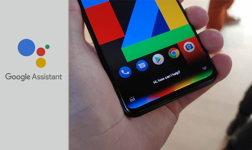 pixel four google assistant gestures