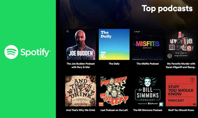 Advertisers can specifically target podcast listens on Spotify
