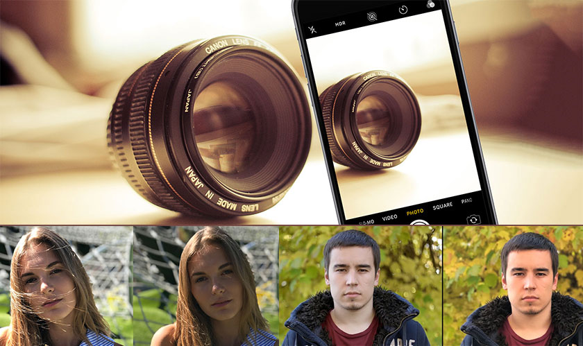 Portrait Mode in Smartphone Cameras is Cheap Trick for Professional Photography