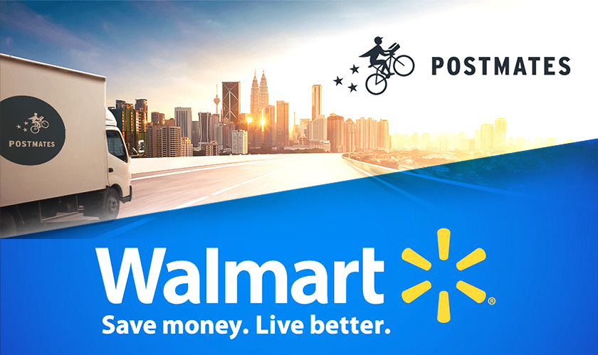postmates walmart grocery delivery