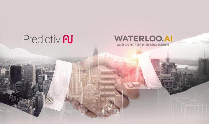 Predictiv AI Partners with Waterloo Artificial Intelligence Institute