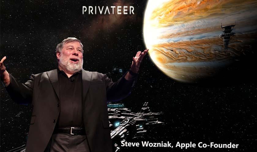 Steve Wozniak announces mysterious space venture: 'Privateer'