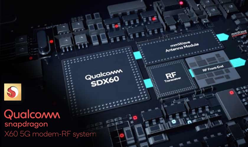 Qualcomm announces Snapdragon X60 5G modem based on 5nm
