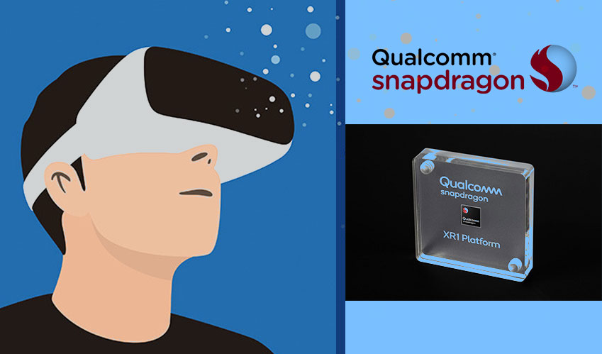 Qualcomm launches a chip adaptable to AR/VR headsets