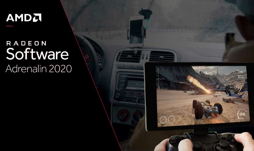 AMD releases its Radeon Software Adrenalin 2020