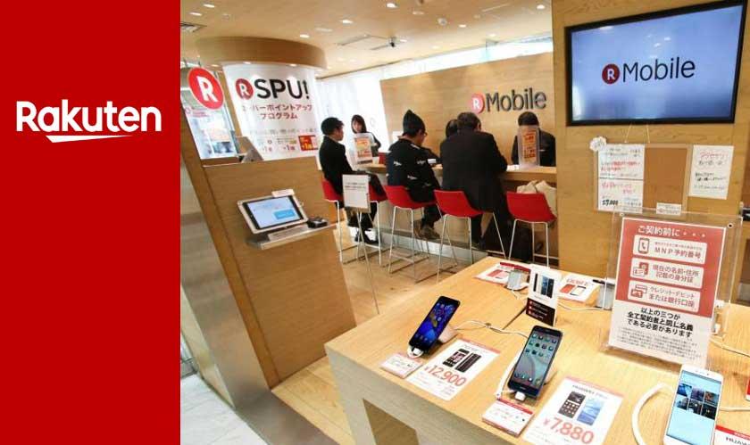 rakuten delays mobile service launch