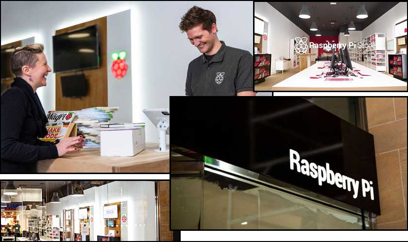 raspberry pi opens retail store