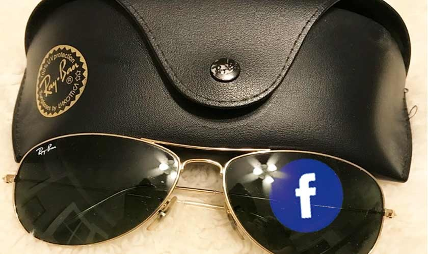 Facebook and Ray-Ban tease their first smart glasses launching tomorrow