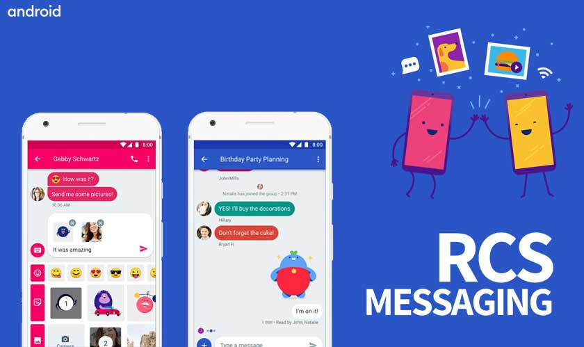 RCS messaging comes to Android in the US