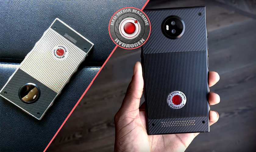 red launches hydrogen one