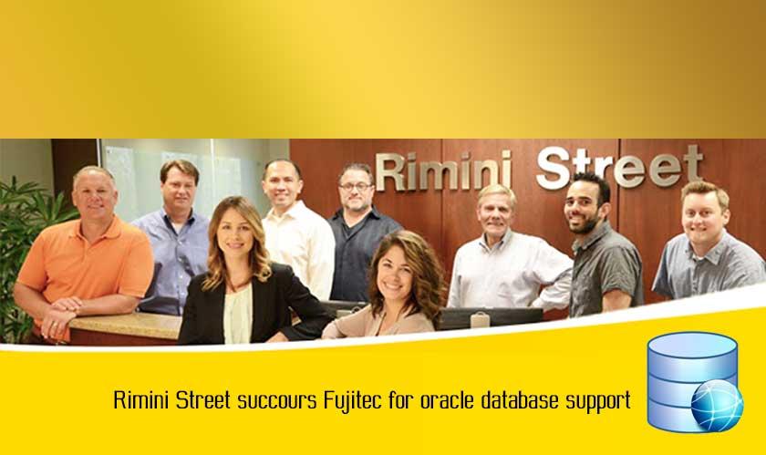 Rimini Street succours Fujitec for oracle database support