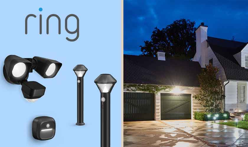 Watch over your property with Ring's Smart Lighting