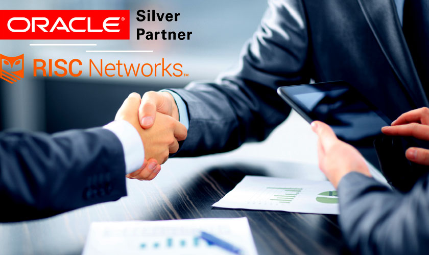 risc networks coalesce with oracle partnernetwork opn specialized program as a silver partner