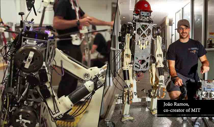 it services robot takes help of human reflex