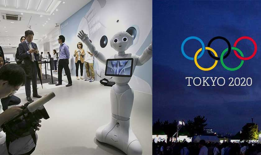 robots in tokyo olympics