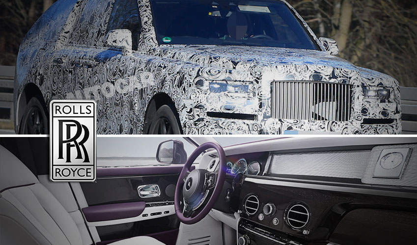 Rolls-Royce new SUV is more alluring!