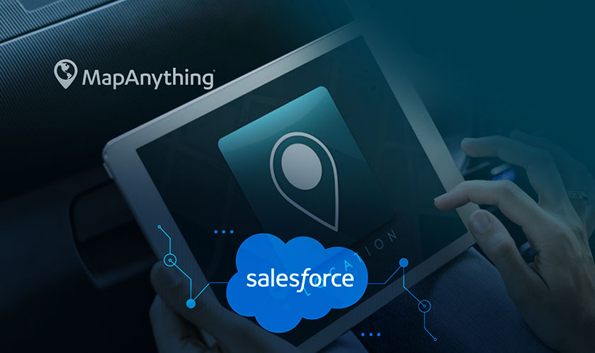 salesforce acquiring mapanything