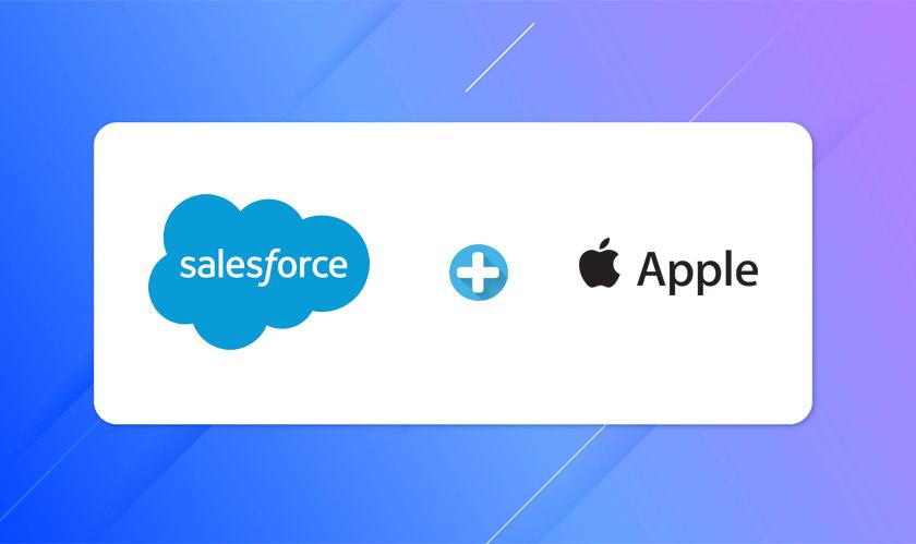 salesforce apple strategic partnership