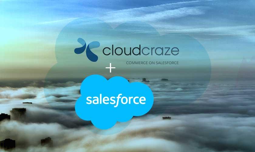 salesforce acquire cloudcraze ecommerce solution