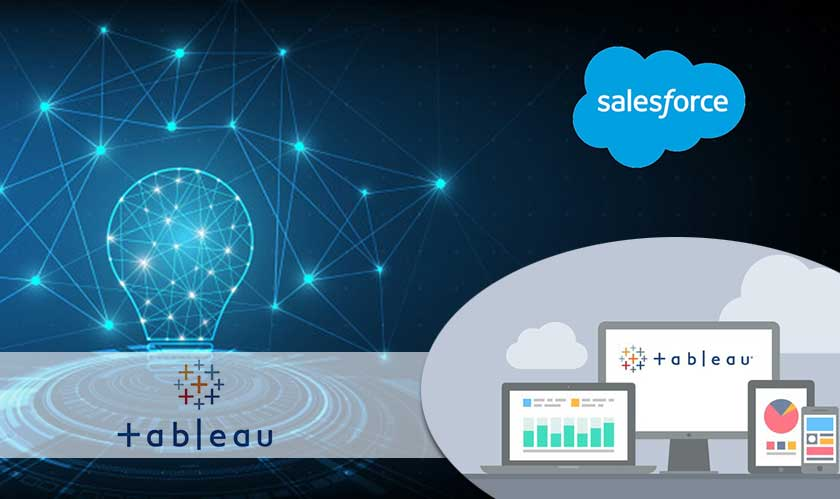 Salesforce is acquiring Tableau for $15.7 billion
