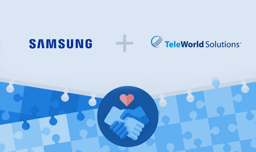 mobile samsung acquires teleworld solutions