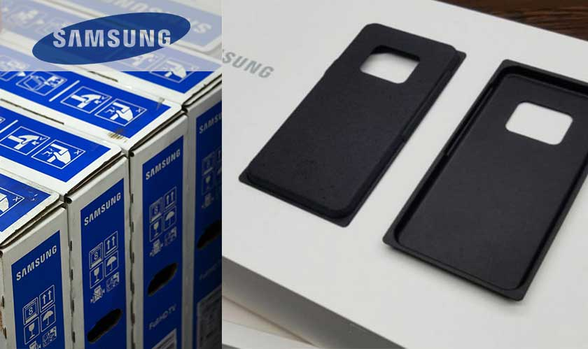 samsung future sustainable packing