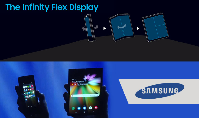Samsung spilled some beans about its upcoming foldable smartphone