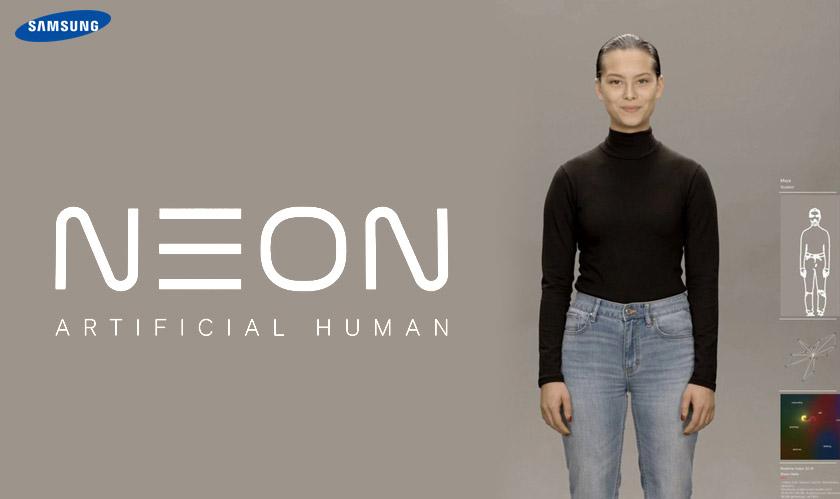 samsung neon artificial human ai