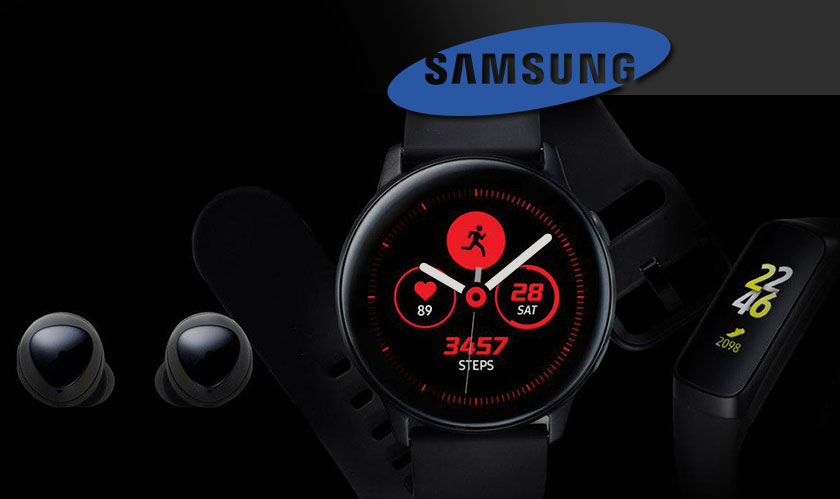 New range of wearables leaked on Samsung app