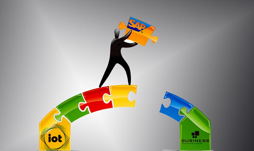 sap bridges gap between iot and business data