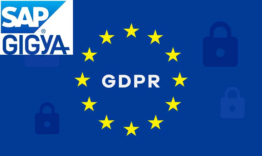 SAP's Gigya rolls out GDPR to build trust and protect customer data
