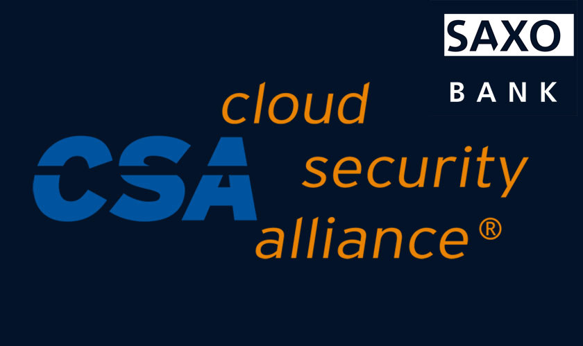 Saxo Bank is the first to win a Cloud Security Alliance (CSA) STAR Level 2