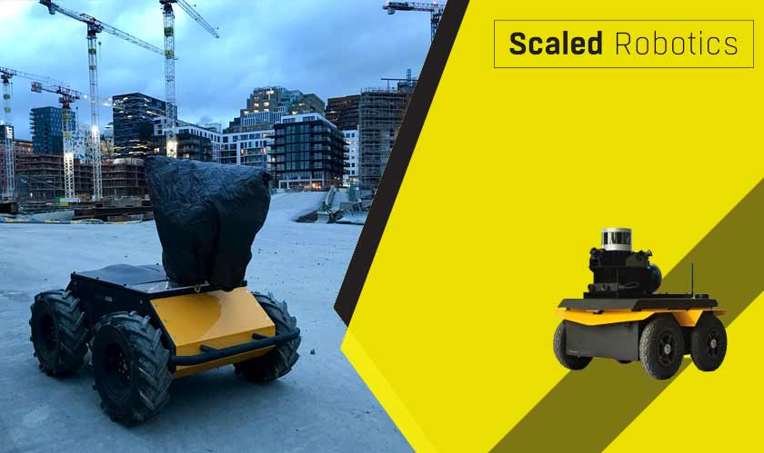 it services scaled robotics tracks on site
