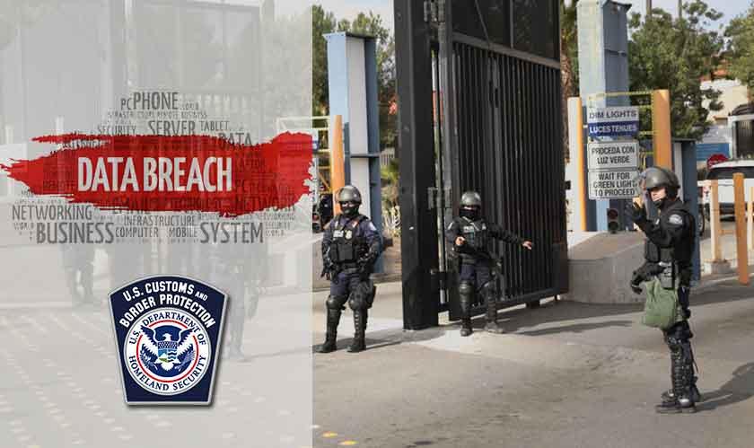 security cbp data breach borders