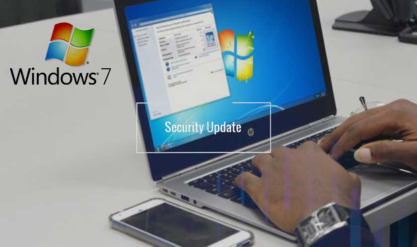The latest security-only update for Windows 7