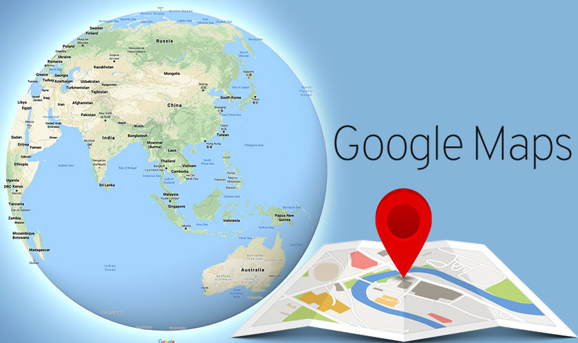 See the Earth as a Globe on Google Maps