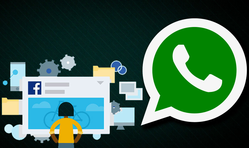 'Send me a WhatsApp Message' is the new Whatsapp advertisement on Facebook
