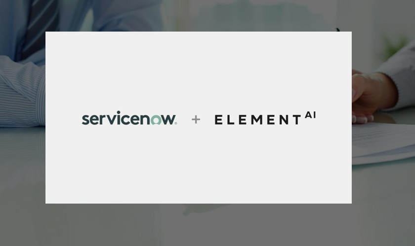 ServiceNow to Acquire Element AI