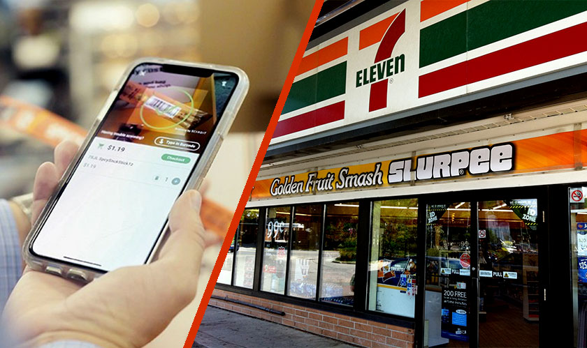 7 eleven cashier less store