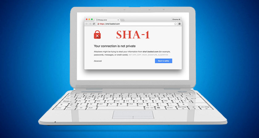 SHA-1 certificates are finally obsolete
