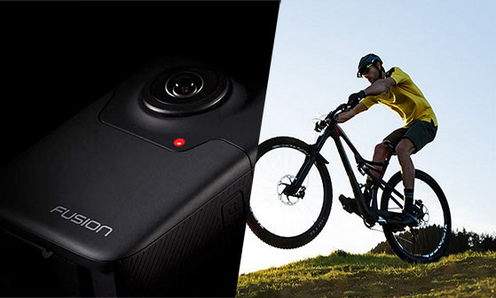 "Shoot like you have six cameras with GoPro's new addictive spherical camera ""Fusion"""