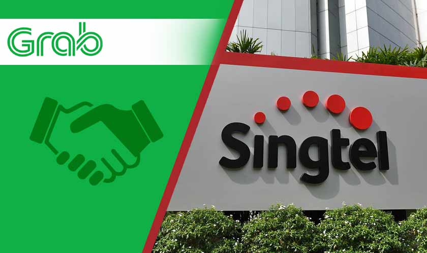 singtel grab partnership