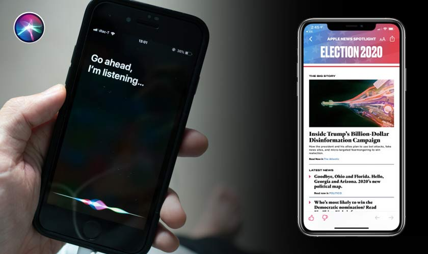 Siri can now answer election related queries