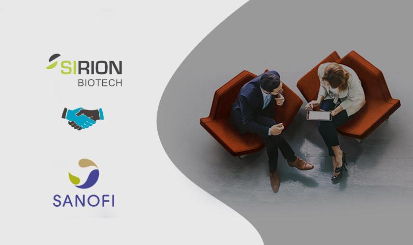 SIRION Biotech collaborates with Sanofi to improve Adeno-Associated Virus Capsids