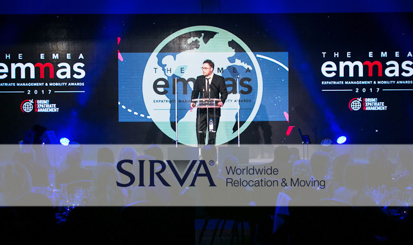 SIRVA recognized for its best services to SAP SE