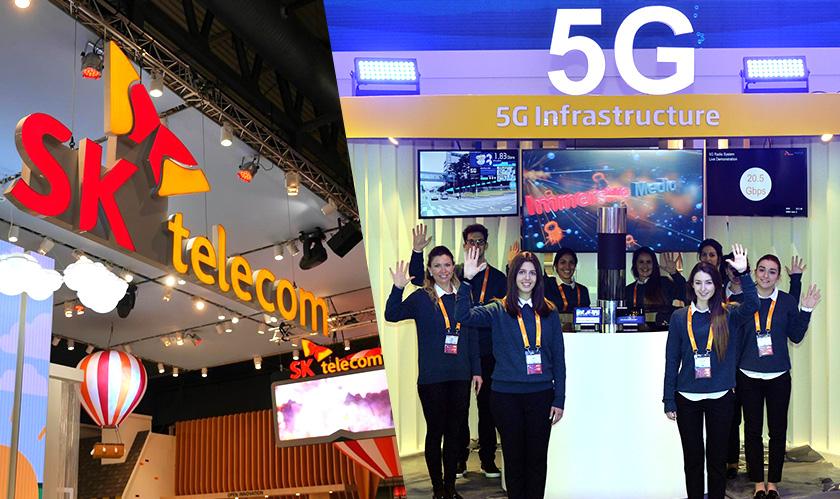 sk telecom makes first 5g call
