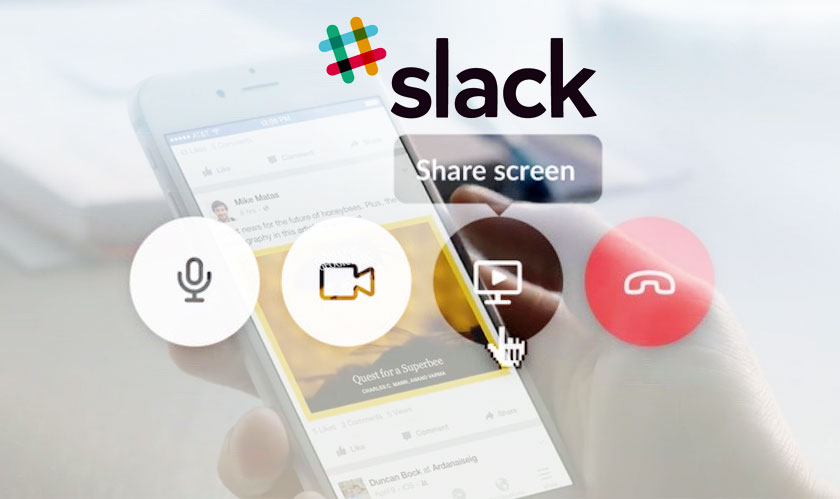 slack adds screen sharing feature